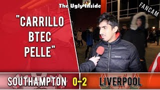 Carrillo BTEC Pelle | Southampton 0-2 Liverpool | The Ugly Inside