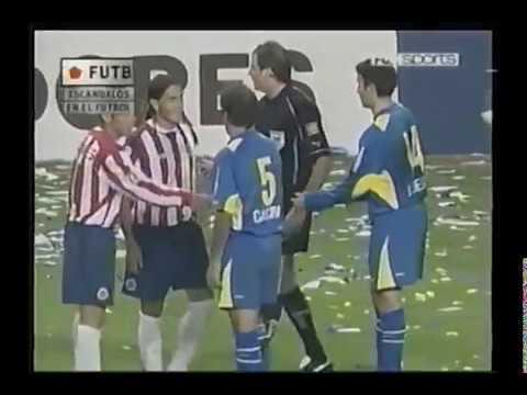 Escandalos de Futbol Boca vs Chivas 4tos de Final Copa Libertadores 2005
