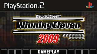 World Soccer Winning Eleven 2009 [PS2] Gameplay