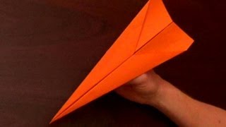Fastest Flying Paper Airplane Tutorial - The Dart,, the fastest paper airplane