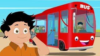 wheels on the bus song | बस का चक्का घूमे गोल | Hindi Nursery Rhymes | kids Songs in Hindi