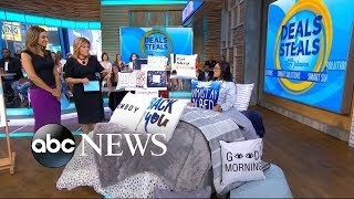 'GMA' Deals and Steals on must-have bedding, wall art and more