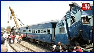 23 Dead, Many Injured As Odisha-Bound Train Derails In Andhra Pradesh; rescue On