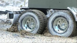 RC BEST OF CONSTRUCTION FAIL! TRUCK ACCIDENT COMPILATION 2017! RC MACHINES