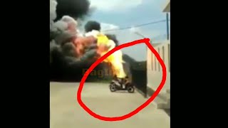 Detik-detik Pabrik Kembang Api Meledak