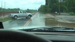 """4"""" of Rain + Wet Ground = This Video"""