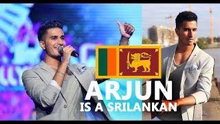 ARJUN is a Sri Lankan ~ Born in Srilanka