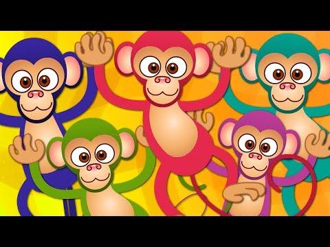 Xxx Mp4 Five Little Monkeys Kindergarten Nursery Rhymes For Babies 3gp Sex