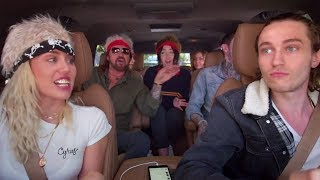 Miley Cyrus & Family Sing Billy Ray