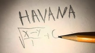 Havana played on pencil