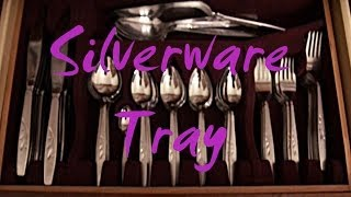 Silverware Tray - A Flock of Dovetails