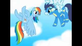 MLP ~* You belong with me..*~ Rainbow Dash and Soarin