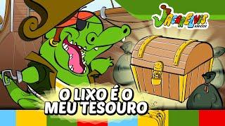 EDUCATIVO ➲ O Lixo é o Meu Tesouro | Jacarelvis e Amigos (vol. 02)