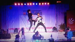 Ultimate Brothers performance in Lovely Professional University 2015 LES TWINS WORSHIPER