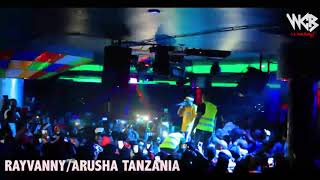 Rayvanny - Live performance At Arusha Club D part 1