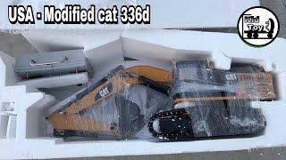 RC EXCAVATOR Modified CAT 336D UNBOXING / fullmetal / Kid toy tv