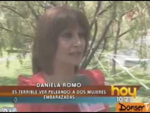Detrás de cámaras en Sortilegio pleito entre Maria José y Raquel programa Hoy