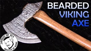 HOMEMADE VIKING AXE - no forge required