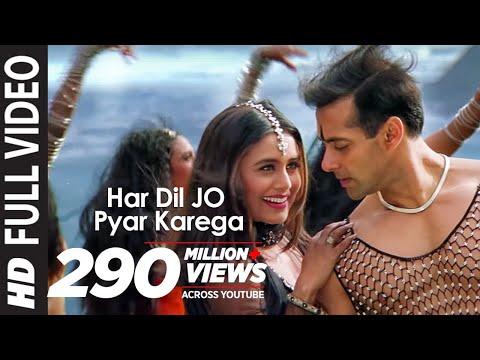 """Har Dil Jo Pyar Karega Title Song"" Ft Salman Khan, Rani Mukherjee"