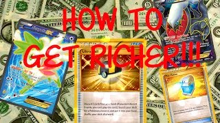 The Best Guide On How To Get Richer On PTCGO!!