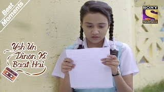 Yeh Un Dinon Ki Baat Hai | Naina Reads Sameer's First Letter | Best Moments
