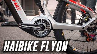 Incredible new 2019 Haibike FLYON and TQ Motor   Eurobike 2018