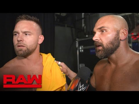 The Revival aren t happy about making history Raw Exclusive Aug. 12 2019