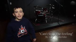 Brady Watkins - Justin Timberlake - Can't Stop The Feeling- Drum Cover