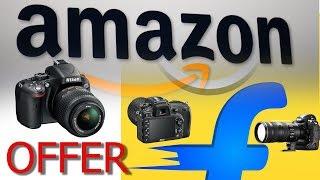 Amazon 2017 Sale! Cheap DSLR & Camera Accessories on Flipkart Amazon 2017 Sale! Youtubers Pick