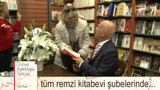 Dünya Astrolojisi Türkiye Kitabı İmza Günü Etkinliği - Öner Döşer