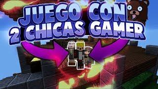 JUEGO CON 2 CHICAS GAMER Y PASA ESTO...