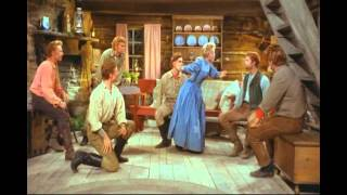 Jane Powell & The Brothers - Goin' Courtin' (7 Brides for 7 Brothers) HD
