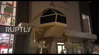 Russia: Guided bipedal complex unveiled by Kalashnikov at