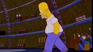 The Simpsons - Hank Scorpio Fire Attacks