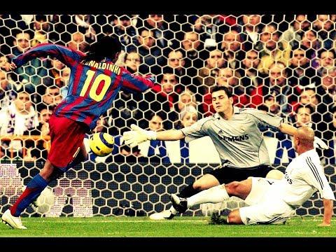 Los 10 Mejores Goles de Ronaldinho Gaucho.