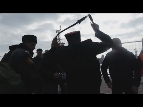 Xxx Mp4 Shocking Moment When Pussy Riot Were Violently Attacked By Russian Police At Sochi Olympics 3gp Sex