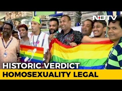 Xxx Mp4 One India Equal In Love Supreme Court Ends Section 377 3gp Sex