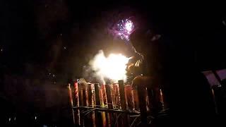 Kembang Api Tahun Baru 2017 Kuta Bali Happy New Year