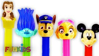 Paw Patrol Pez Candy & Mickey Mouse with Magical Microwave
