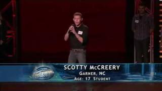 American Idol 10 - Scotty McCreery, Jackie Wilson & Jerome Bell - Hollywood Round 1