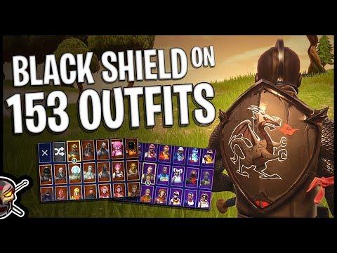 Xxx Mp4 Black Shield Back Bling On 153 Outfits Black Knight Fortnite Cosmetics 3gp Sex