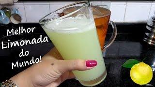 A Melhor Limonada do Mundo! :D | Dia de Chef | #veda8 - Carol Martins