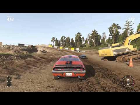 NCG(WreckFest) Multiplayer Sandpit track.