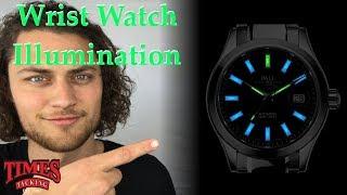 The Evolution Of Wrist Watch Illumination