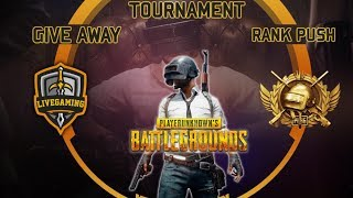 PUBG Mobile Pakistan/India - Custom Room - UC GiveAway - Tournaments