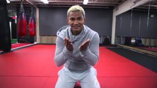 Tony Ja visits Krudar Muay Thai