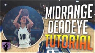 HALL OF FAME MIDRANGE DEADEYE TUTORIAL - 3 WAYS TO DO IT IN NBA 2K18