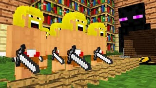 Monster School: Clash of Clans -- Cubic Minecraft Animation