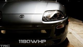 Two 1000+HP Supras battle Texas Streets - TX2K13