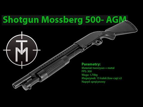 SHOTGUN MOSSBERG 500 (MP003A) FIRMY AGM (FILM LONG) - TANIEMILITARIA.PL